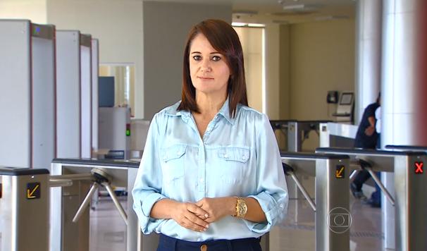 Carla Suzzane falou dao caso das verbas de subvenção (Foto: Divulgação / TV Sergipe)