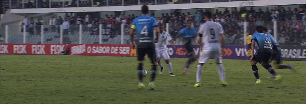 Santos x Grêmio - Campeonato Brasileiro 2015 - globoesporte.com 5e951029c17c5
