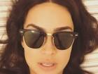 Thaila Ayala conta perrengue em desfile: 'Passei muito mal'
