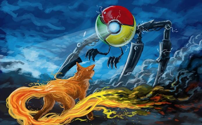 Google Chrome e Firefox são os navegadores mais populares do momento (Foto: Reprodução/Rui Gomes) (Foto: Google Chrome e Firefox são os navegadores mais populares do momento (Foto: Reprodução/Rui Gomes))