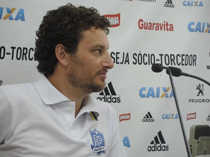 Elano, Flamengo, Despedida (Foto: Cahê Mota/Globoesporte.com)