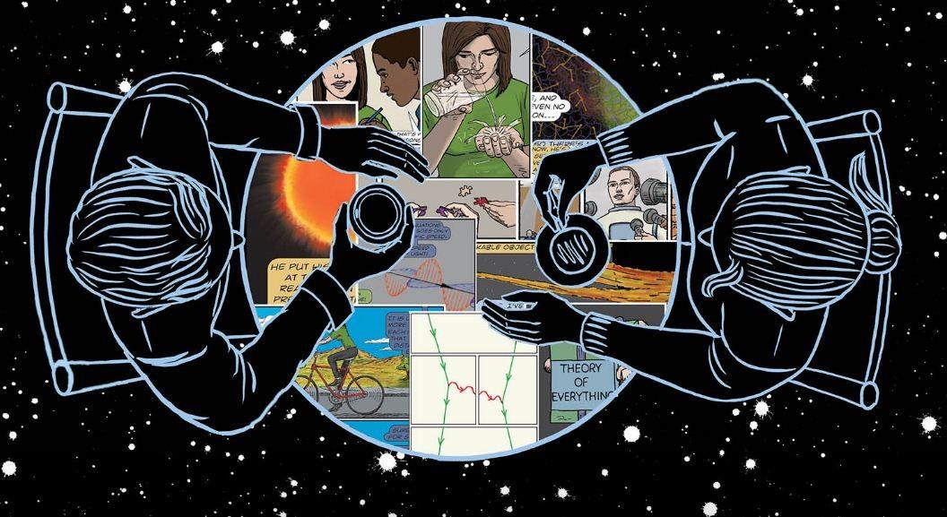 """HQ """"O Dialogo, Conversas sobre a Natureza do Universo"""" foi escrita pelo professor de física e astronomia Clifford Johnson (Foto: Divulgação / MIT Press)"""