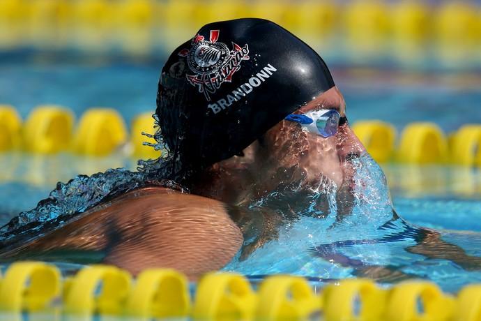 natação Brandonn Pierry de Almeida 400m medley Troféu Maria Lenk (Foto: Satiro Sodre/SSPress)