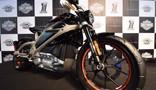 Harley traz moto elétrica (Flavio Moraes/G1)