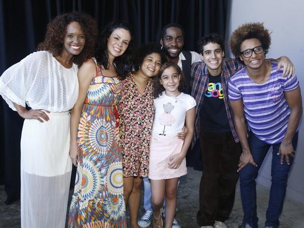 Lázaro Ramos em estreia de espetáculo infantil (Foto: Agnews/Roberto Filho)