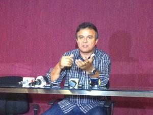 """Prefeito de Belém, Zenaldo Coutinho, disse que está aberto ao diálogo Estou aberto ao diálogo """"com os que queiram o diálogo, não com oportunistas"""".  (Foto: Dominik Giusti/G1)"""