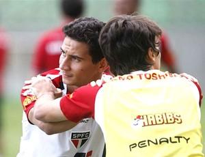 Ganso treino São Paulo (Foto: Rubens Chiri / saopaulofc.net)