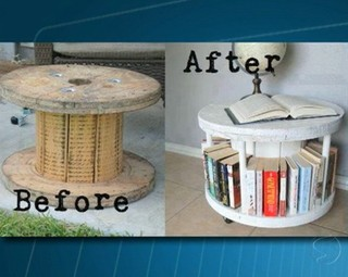 É possível customizar e deixar a casa charmosa e interesante (Foto: Reprodução RJTV 1ª Edição)