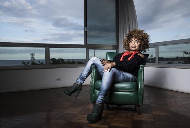 Elza Soares (Foto: Stefano Martini/Ed. Globo)