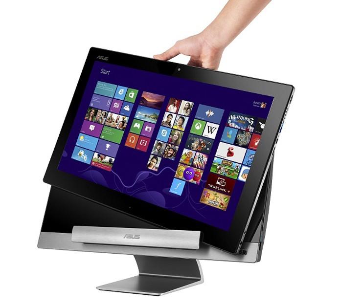 Monitores híbridos podem ser usados como tablets (Foto: Divulgação)