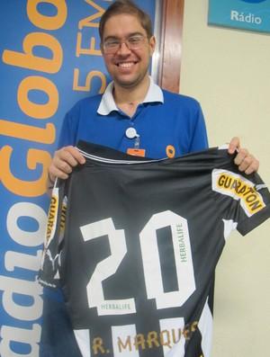 camisa Rafael Marques Botafogo (Foto: Fred Huber)