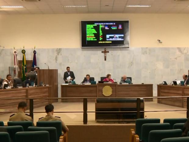 Criação de fundação cultural virou polêmica em Pouso Alegre, MG (Foto: Reprodução EPTV)
