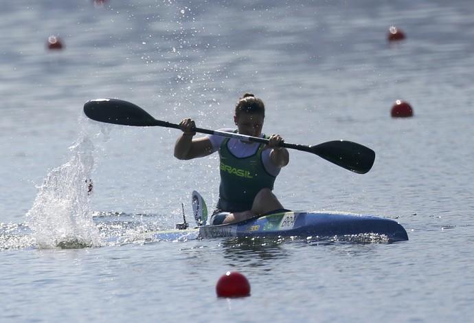 Ana Paula Vergutz competindo no Rio de Janeiro (Foto: REUTERS/Murad Sezer)