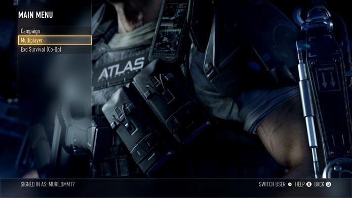 Call of Duty: Advanced Warfare: como jogar os modos sem armaduras Exo (Foto: Reprodução/Murilo Molina)