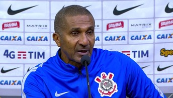 Confira a entrevista de Cristóvão Borges após derrota do Corinthians para o Atlético-MG