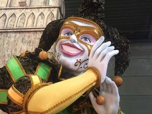 Desde a Idade Média, o palhaço é ligado ao povo, à alegria, ao grotesto, em oposição ao recato divino (Foto: Alba Valéria Mendonça/ G1)