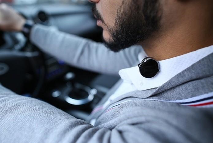 Wearable é ideal para gravar ideias no carro ou na rua sem usar o celular (Foto: Divulgação/Senstone)
