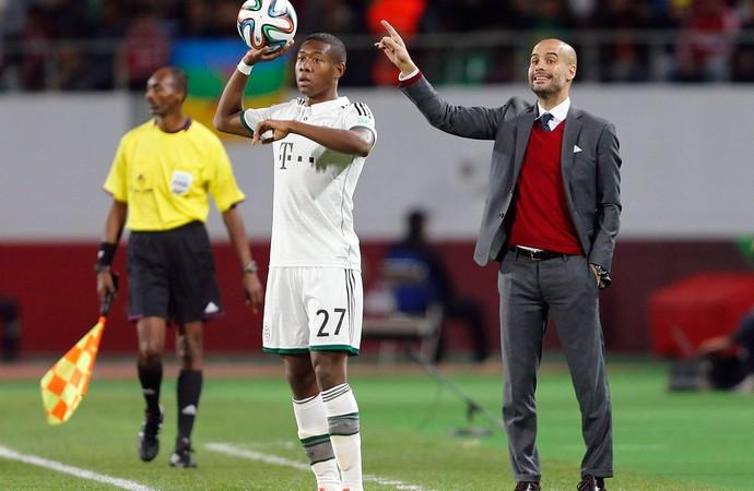 Pep Guardiola jogo Guangzhou Evergrande e Bayern de Munique Mundial (Foto: Reuters)
