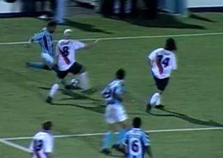 Roger, Coudet, Grêmio, River Plate, Libertadores (Foto: Reprodução / RBS TV)