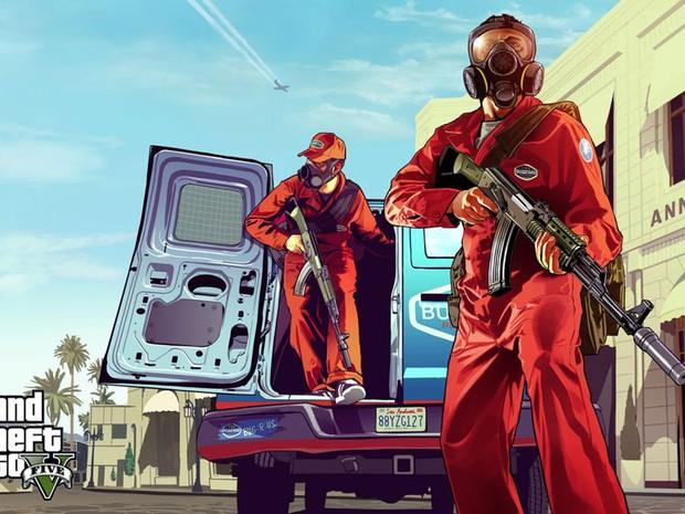 Arte de 'GTA V' (Foto: Divulgação)