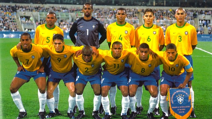 Seleção olimpica 2000 (Foto: Divulgação)