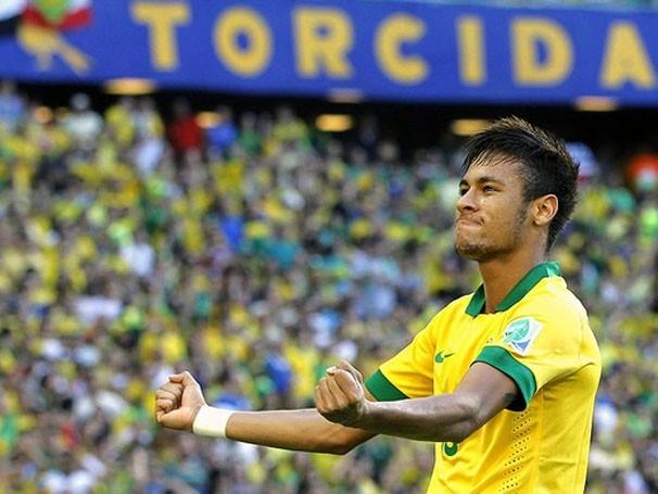 Neymar já tem dois gols na Copa da Confederações (Foto: EFE / Reprodução: Globoesporte.com)