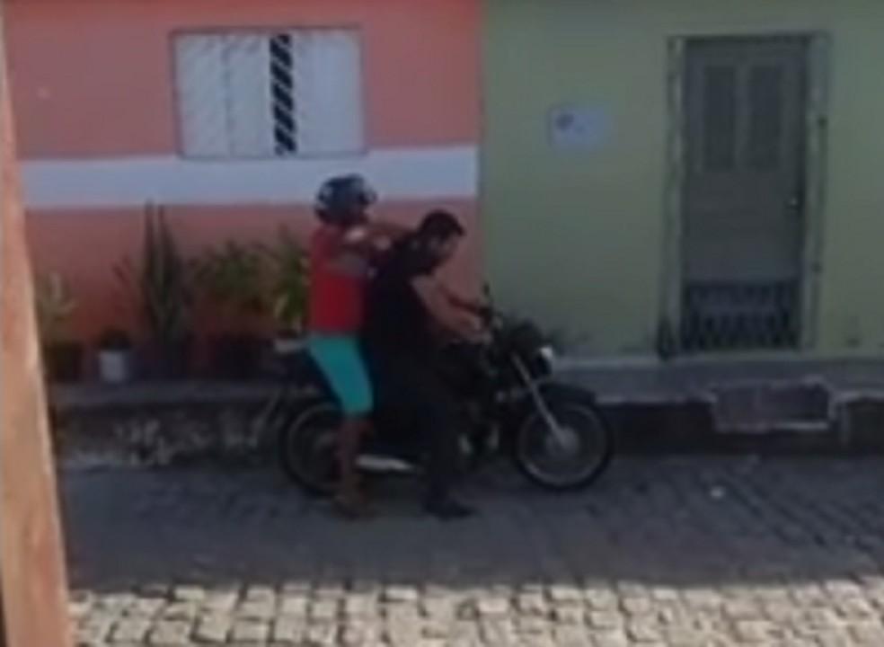 Assalto aconteceu no bairro Alecrim, em Natal (Foto: Divulgação/ PRF)
