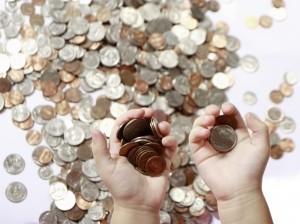 Dinheiro moedas (Foto: Reprodução)