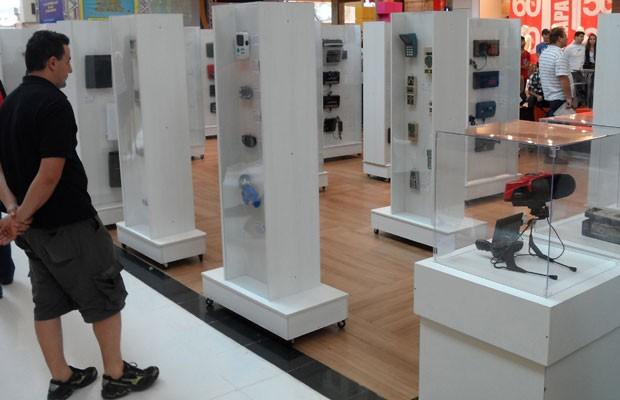 Exposição do Museu do Videogame, o primeiro do gênero no Brasil, em shopping de Campo Grande (MS). (Foto: Divulgação/Arquivo Pessoal/Cleidson Lima)