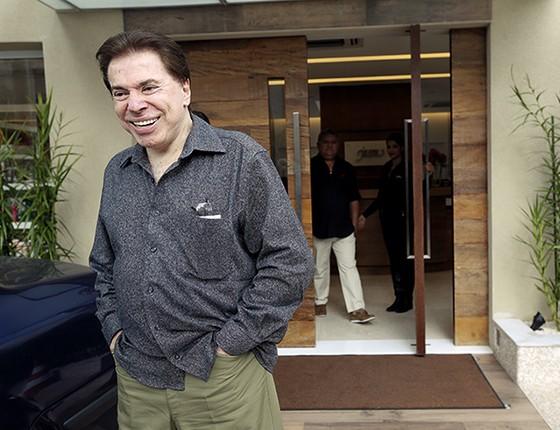 NÃO CONTARAM COM SUA ASTÚCIA Silvio Santos pôs um freio de arrumação no SBT (Foto: Moacyr Lopes Junior/Folhapress)