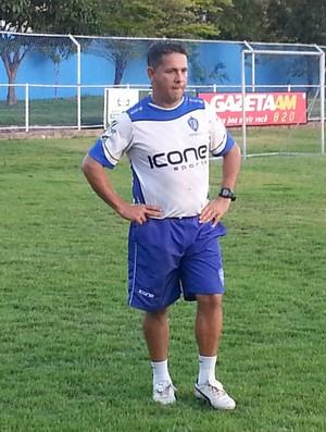 Emerson Silva acredita no retorno de Weltinho ainda no Capixabão (Foto: Richard Pinheiro/GloboEsporte.com)