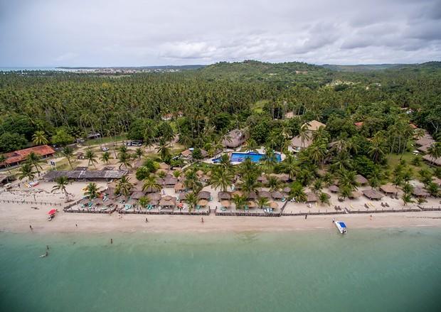 Pousada Praia dos Carneiros, onde o casal está hospedado (Foto: Reprodução / Pousada Praia dos Carneiros)