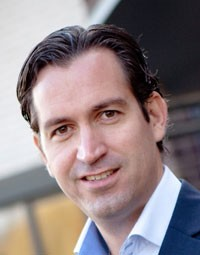 Jim Halfens, fundador do hotel do divórcio (Foto: Divulgação/WWW.DIVORCEHOTEL.COM)