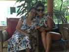 Morre avó de Paula Fernandes e cantora lamenta na web: 'Te amo, vó'