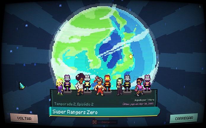 Chroma Squad te permite criar e personalizar um esquadrão de heróis (Foto: Reprodução/Felipe Vinha)