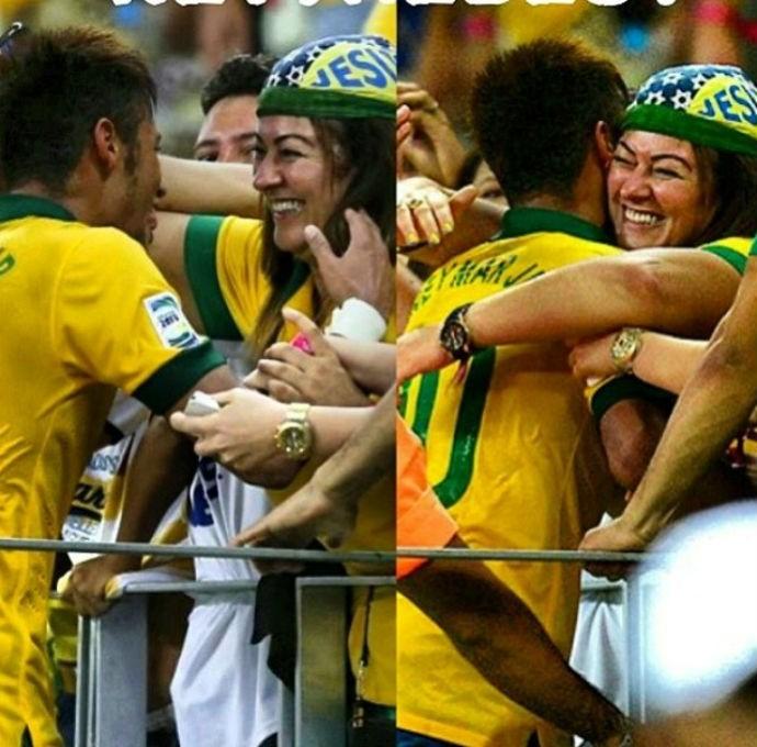 Neymar homenageia sua mãe (Foto: Reprodução/Instagram)