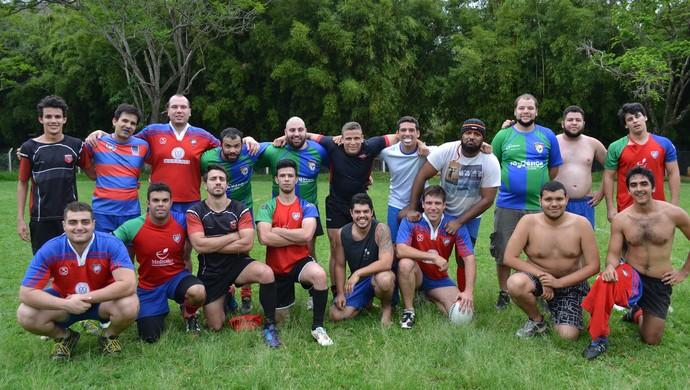Viçosa Rugby confraternização  (Foto: Viçosa Rugby/ Arquivo)