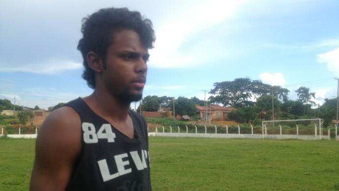 Raimundo Nonato, atacante do Araguaína na Copinha (Foto: Vilma Nascimento/GloboEsporte.com)