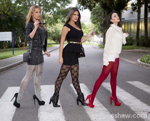 2615f90aa Bailarinas dão dicas para você arrasar com meia-calça neste inverno ...