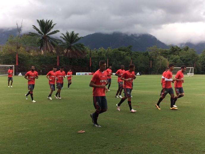 Flamengo treino Ninho (Foto: Raphael Zarko/ Globoesporte.com)