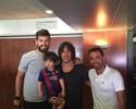 Luis Enrique e jogadores votam em eleição do Barcelona