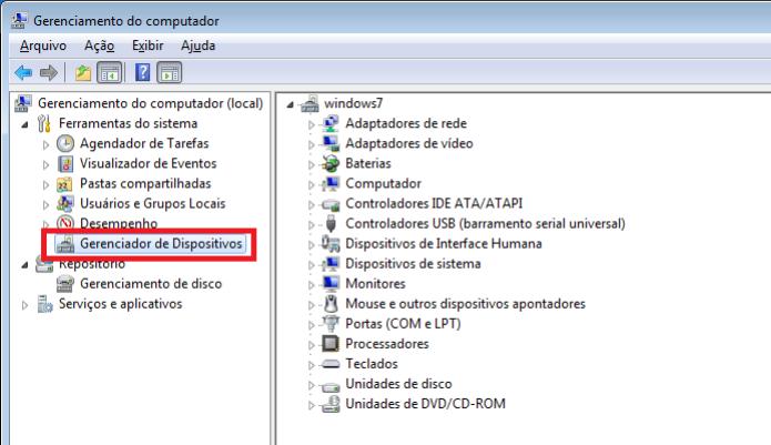 Acessando o gerenciador de dispositivos no Windows (Foto: Reprodução/Edivaldo Brito) (Foto: Acessando o gerenciador de dispositivos no Windows (Foto: Reprodução/Edivaldo Brito))