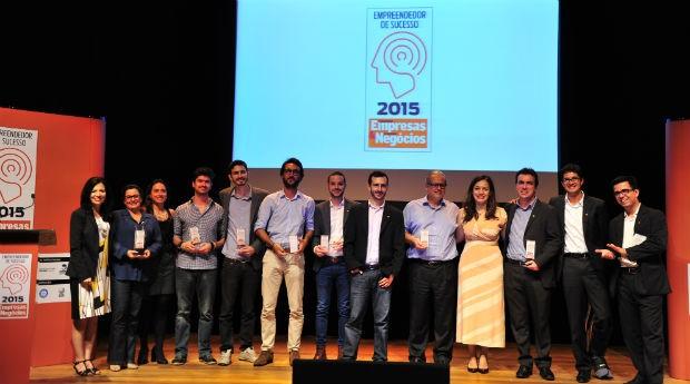 Vencedores do Prêmio Empreendedor de Sucesso 2015 (Foto: Marcia Tavares)