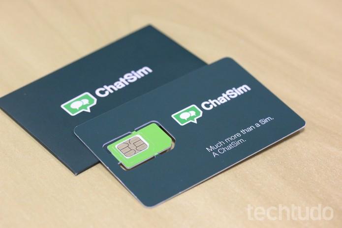 Para enviar e receber conteúdos multimídia, é preciso comprar créditos  (Foto: Ana Marques/TechTudo)