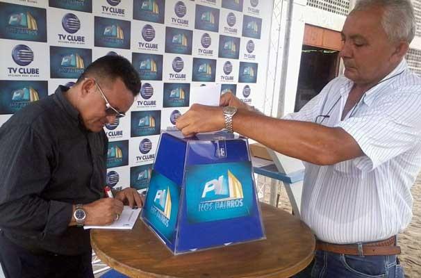 Urna do PITV nos Bairros (Foto: Andreelson Delmiro)