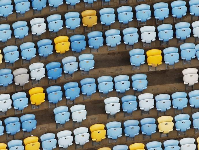 Maracanã cadeiras 12/01/2017 (Foto: Reuters)