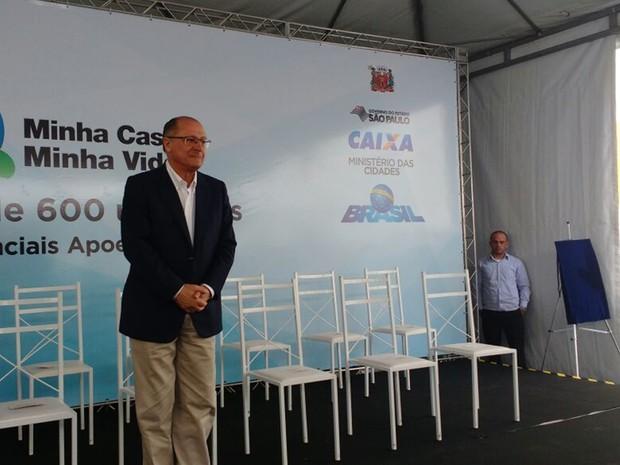 Governador Geraldo Alckmin esteve em Mogi da Cruzes nesta sexta-feira (9)
