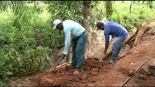 Sem ponte, moradores precisam percorrer 5 km a mais para chegar a povoado no TO
