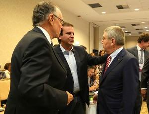 Reunião do COI Eduardo Paes Rio 2016 (Foto: Beth Santos)