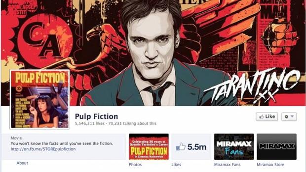Facebook: Pulp Fiction (Foto: reprodução / internet)